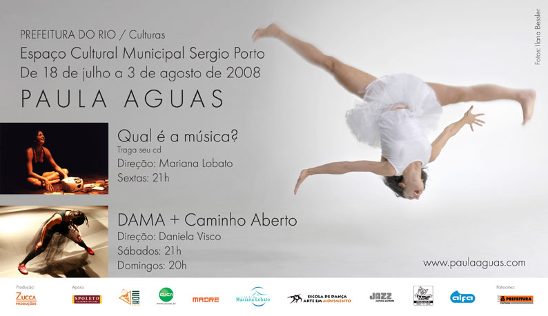 Paula Águas no Sérgio Porto (RJ – Humaitá)