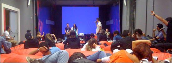 Arena central #blogcamprj 2008