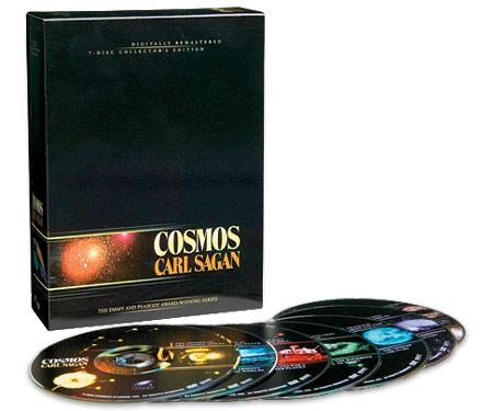 DVDs de Cosmos - Carl Sagan - Edi??o de Colecionador