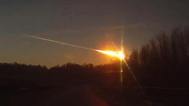 Queda de meteoro na Rússia