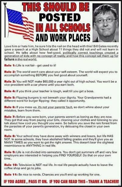 11 regras de Charles J. Sykes (clique na imagem para ler o artigo)