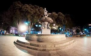 Monumenot no centro da S?o Salvador