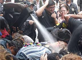 """""""A PM do Rio é mais violenta que a da ditadura"""""""