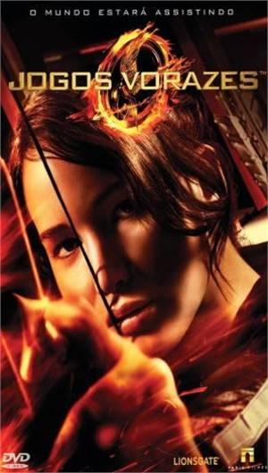 Capa do DVD de Jogos Vorazes