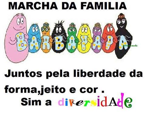 A marcha pela família brasileira com Deus