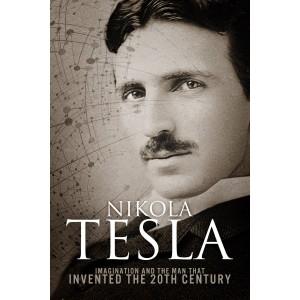Capa de livro sobre Nikola Tesla