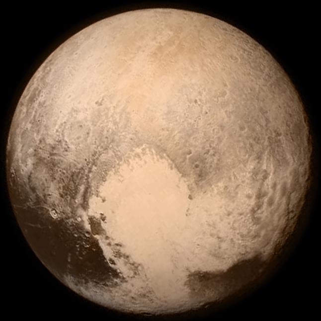 """""""Fotografamos Plutão. Que bobeira!"""""""