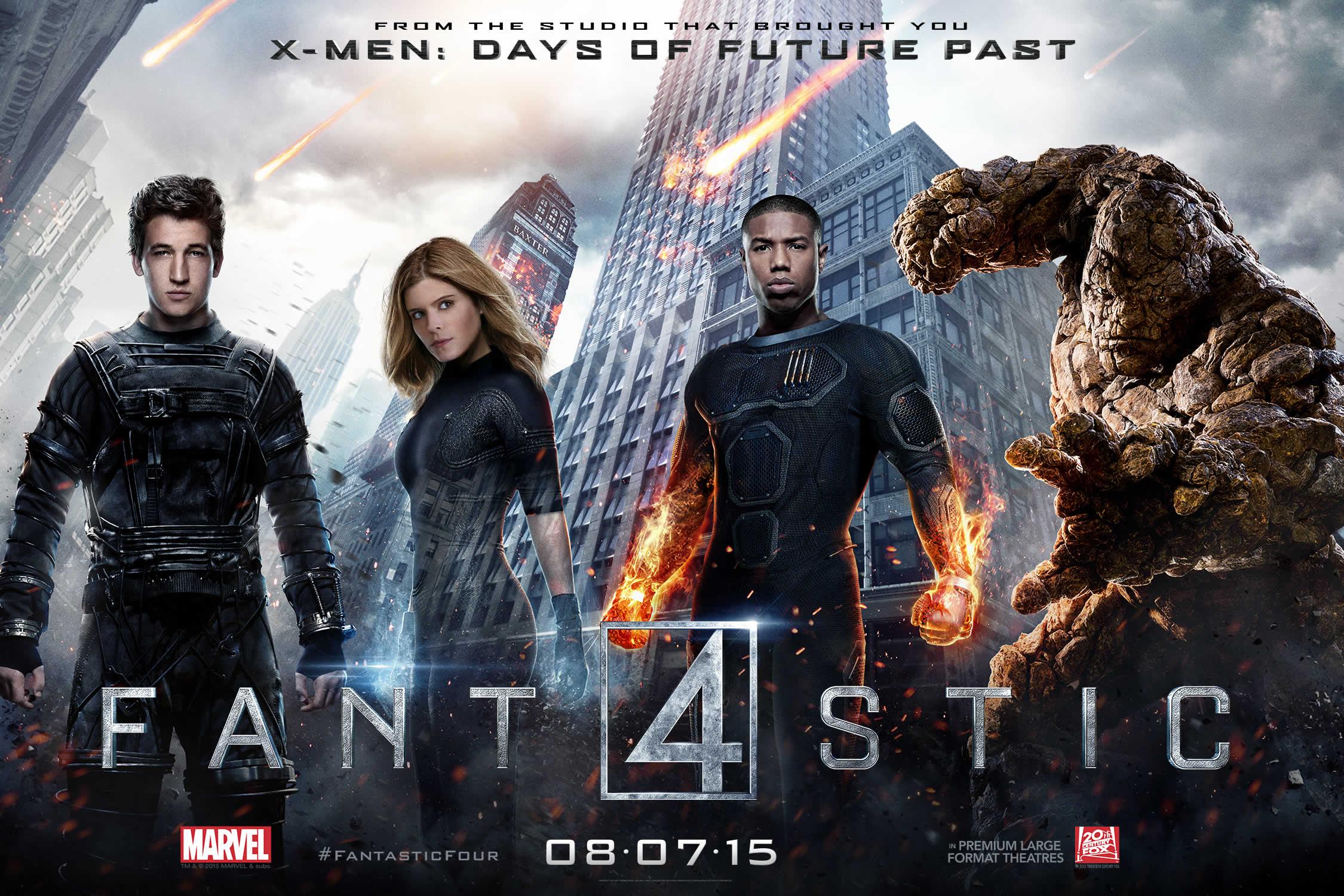 Quarteto Fantástico 2015 (com spoilers)