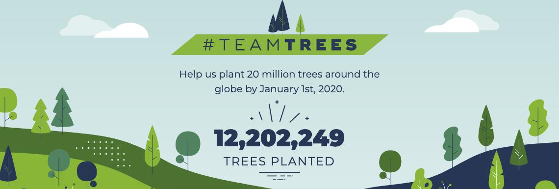 20 milhões de árvores em 2020